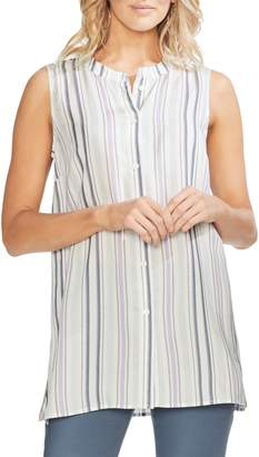 Vince Camuto Sleeveless Stripe Top