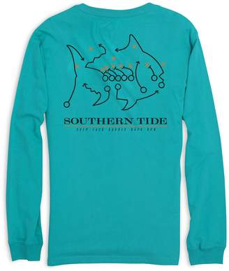 Southern Tide Skipjack Play Long Sleeve T-shirt - Coastal Carolina University
