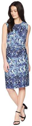Nic+Zoe Petite Seaside Tile Dress Women's Dress