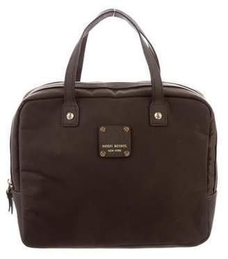 Henri Bendel Nylon Leather-Trimmed Handle Bag