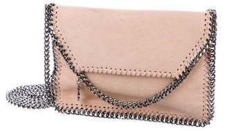 Stella McCartney Tiny Falabella Shaggy Deer Foldover Tote