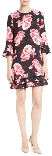 Kate Spade Women's Kate Spade New York Rosa Ruffle Shift Dress