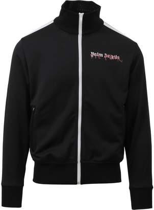 Palm Angels Black Zip-up Jacket
