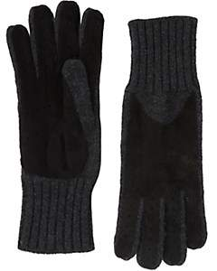 Barneys New York Women's Driving Gloves - Black