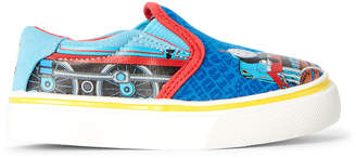 Thomas & Friends Toddler Boys) Blue Character Slip-On Sneakers