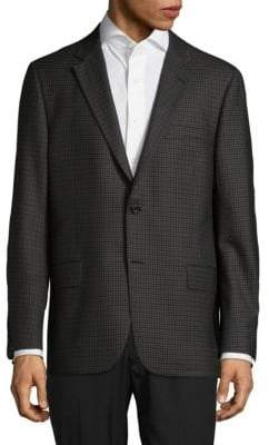 Hickey Freeman Milburn II Patterned Wool Jacket