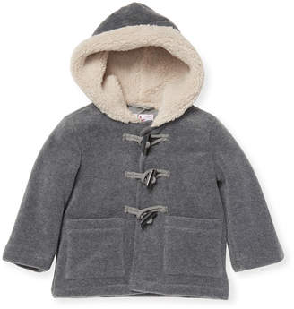 Il Gufo Lined Hooded Jacket