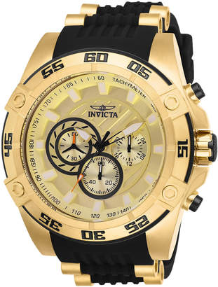 Invicta 25507 Gold-Tone & Black Speedway Watch