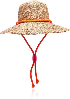 Eric Javits Aimée Chinstrap Braided Hat