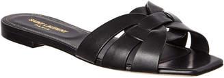 Saint Laurent Nu Pieds 05 Leather Sandal