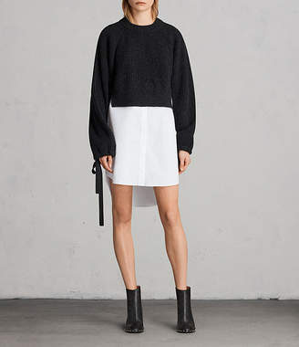 AllSaints Sura Sweater Dress