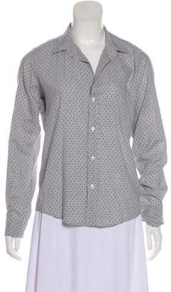 Frank And Eileen Printed Button-Up Top