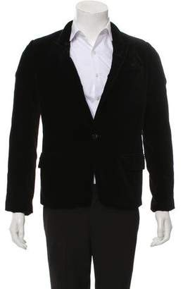 Undercover Coverism Velvet One-Button Blazer