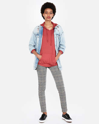 Express One Eleven Drawstring Pullover Hoodie