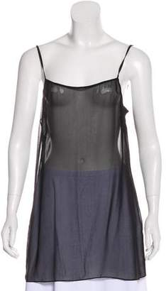 Halston Sleeveless Slip Top