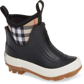 Burberry Flinton Waterproof Rain Boot