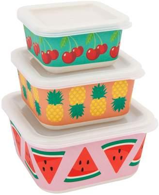 Sunnylife Fruit Salad Eco Nesting Boxes (Set of 3)