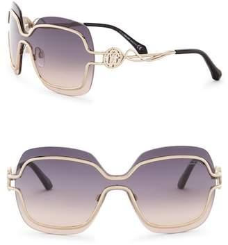 Roberto Cavalli Women's 135mm Metal Frame Sunglasses