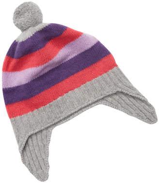 Portolano Striped Knit Hat