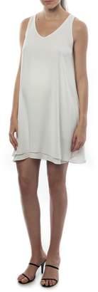 Pietro Brunelli 'Lago Di Como' High/Low Maternity Dress