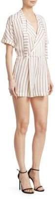 Maje Imaly Striped Romper