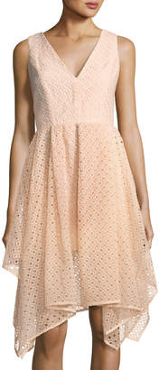 Keepsake Last Dance A-Line Eyelet Dress