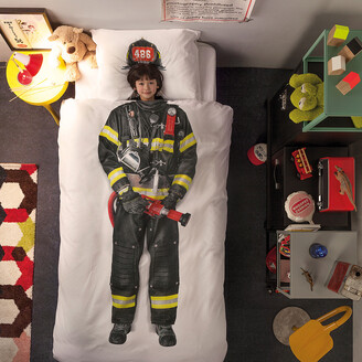 Firefighter Duvet Set