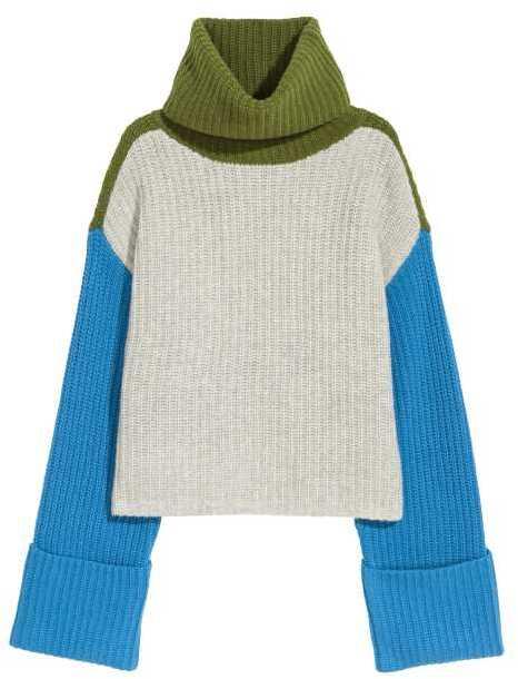 H&M Wide-cut Turtleneck Sweater