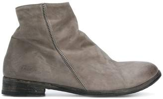 The Last Conspiracy side stitch ankle boots
