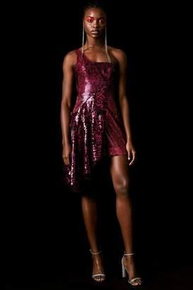 Topshop **Sequin Asymmetric Dress by x Halpern