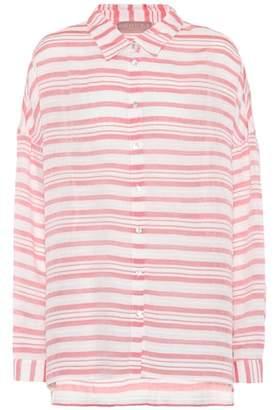 81 Hours 81hours Federic striped shirt