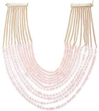 Rosantica By Michela Panero - Raissa Beaded Necklace - Womens - Pink