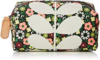 Orla Kiely Flower Bloom Canvas Cosmetic Bag