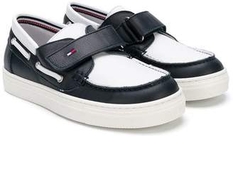Tommy Hilfiger Junior two-tone moccasins