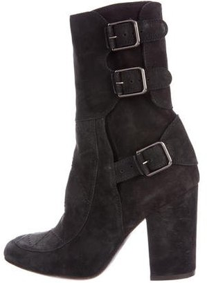 Laurence Dacade Merli Ankle Boots $325 thestylecure.com