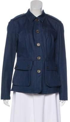 Burberry Denim Collared Jacket