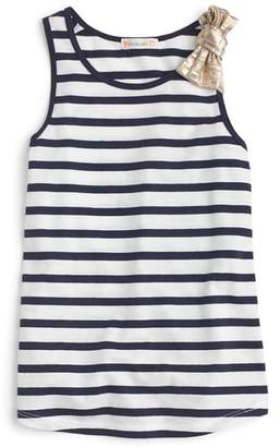 J.Crew crewcuts by Stripe Bow Tank Top