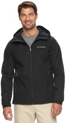 Columbia Big & Tall Smooth Spiral Hooded SoftShell Jacket