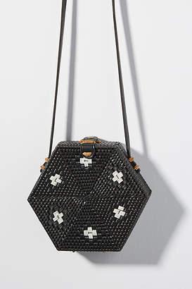 Anthropologie Betsy Hexagon Crossbody Bag