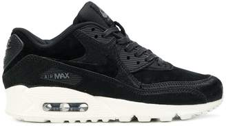 Nike platform lace up sneakers
