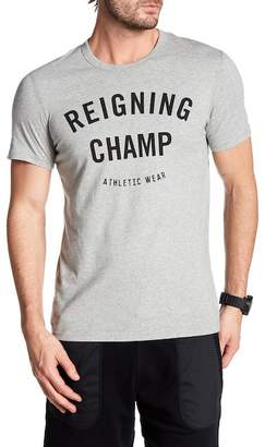 REIGNING CHAMP Gym Logo Tee $60 thestylecure.com