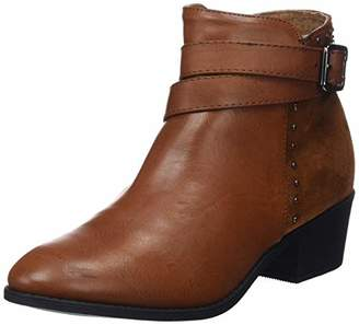 Xti Women's 48607 Ankle Boots, Brown Camel