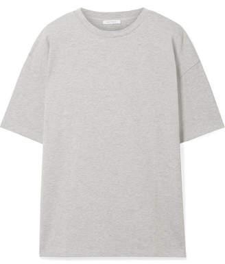 Ninety Percent - Faye Oversized Organic Cotton-jersey T-shirt - Light gray