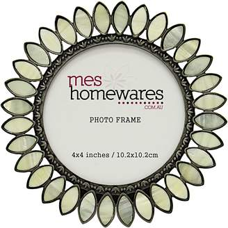 Mother of Pearl Mes Homewares Sun Photo Frame, 4x4