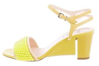 Fendi Fantasia Beaded Sandals w/ Tags