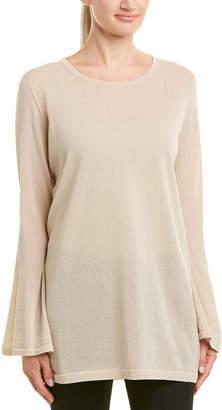 Lafayette 148 New York Flared Sleeve Sweater