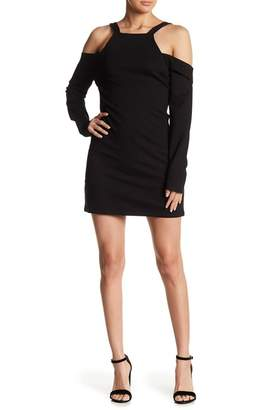 Line & Dot Gabi Cold Shoulder Dress