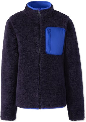 Tory Sport SHERPA FLEECE JACKET