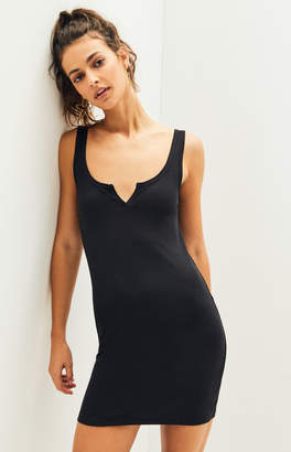 KENDALL + KYLIE Kendall & Kylie Notched Neck Bodycon Dress