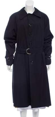 Christian Dior Wide Collar Trench Coat
